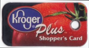 Kroger Plus shopper's card